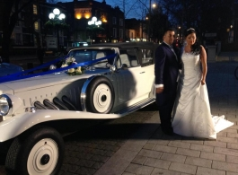 White Beauford for wedding hire in London